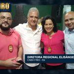 21/09/18 – DIPLOMAÇÃO CAPELÃ LETICIA JOTTA / DIRETORA: ELISÂNGELA DIAS